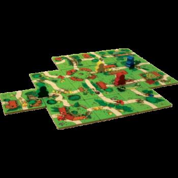 Carcassonne-Junior-spelmateriaal