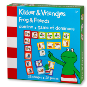 Kikker & vriendjes domino