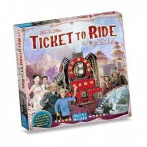 Ticket to ride – Asia