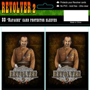 """Revolver 2 kaartsleeves """"General Mapache"""""""