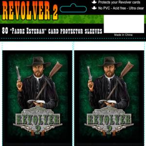 """Revolver 2 kaartsleeves """"Padre Esteban"""""""