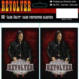"""Revolver kaartsleeves """"Jack Colty"""""""