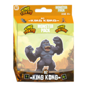 King of Tokyo Monster Pack 02 King Kong