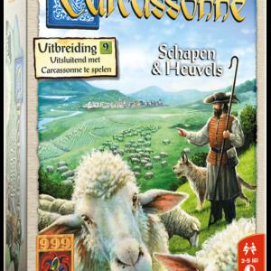 Carcassonne uitbreiding 9: Schapen en heuvels