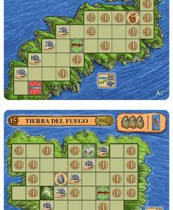 Odin – mini uitbreiding: Lofoten/Orkney/Tierra del Fuego