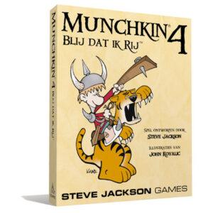 Munchkin 4 NL – Blij dat ik Rij