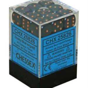 Dice Set Opa Blue/Copper