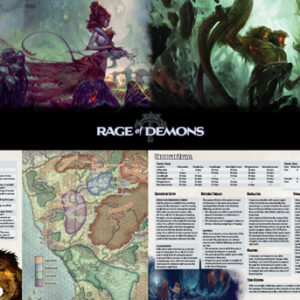 D&D – Rage of Demons – DM Screen