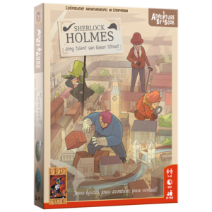 Adventure by book: Sherlock Jong Talent van Bakerstreet