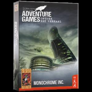 Adventure Games: Monocrome inc.