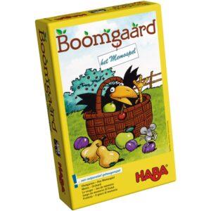 Boomgaard – Het memospel