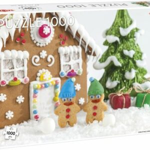 Christmas gingerbread house 1000 stukjes