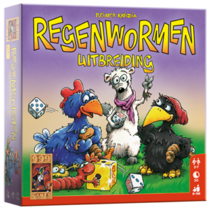 Regenwormen uitbreiding