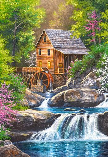 Spring mill - detail