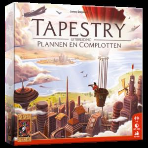 Tapestry Uitbreiding: Plannen en Complotten
