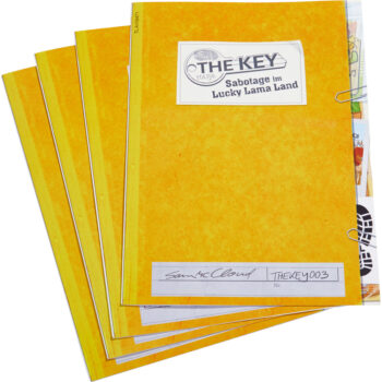 The Key – Sabotage in Lucky Lama Land materiaal