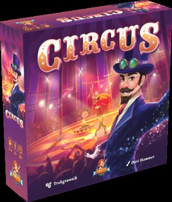Circus Box 3D Box no shadow
