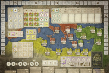 Gentes board 3-4players