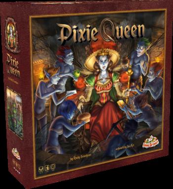 Pixie Queen Box 3D