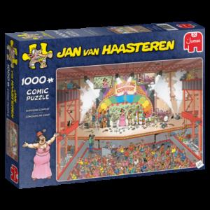 Eurosong Contest – Jan van Haasteren (1000)