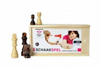 schaakstukken koningshoogte 77mm