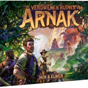 De Verdwenen Ruïnes van Arnak (met Saxofoon promokaart)