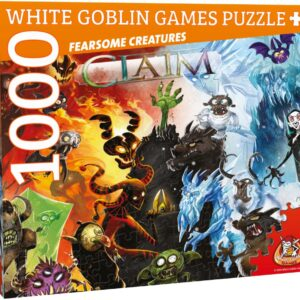 Claim Puzzel: Fearsome Creatures